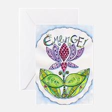 Emerge Greeting Card