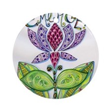 Emerge Round Ornament