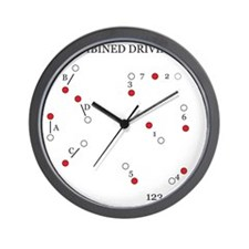 Combined Driving for Kids Wall Clock