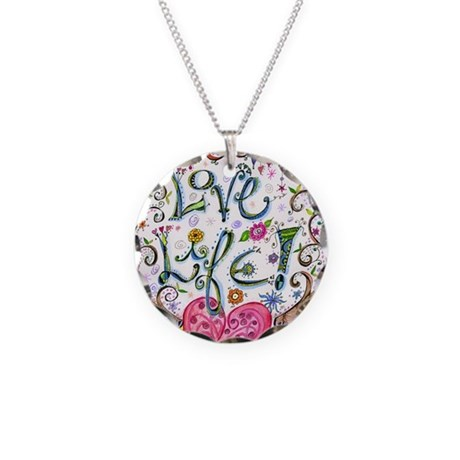 Love Life Necklace Circle Charm by ADMIN_CP3273914