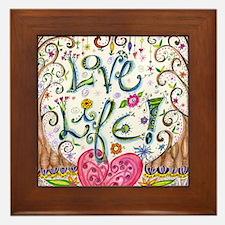 Love Life Framed Tile