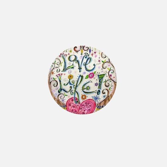 Love Life Mini Button