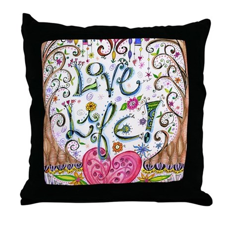 Love Life Throw Pillow : Love Life Throw Pillow by ADMIN_CP3273914