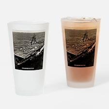 shangrila cv framed panel print Drinking Glass