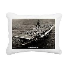 shangrila cv large frame Rectangular Canvas Pillow