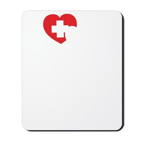 safeNurse1B Mousepad