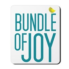 Bundle of Joy in Blue Mousepad
