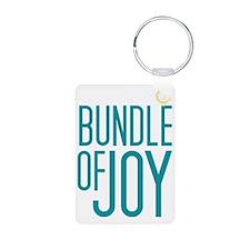 Bundle of Joy in Blue Keychains