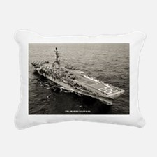shangrila cva large fram Rectangular Canvas Pillow
