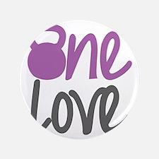 """Purple One Love Kettlebell 3.5"""" Button"""