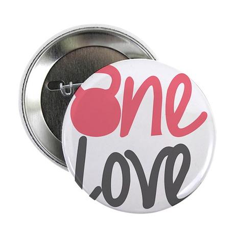 "Pink One Love Kettlebell 2.25"" Button"
