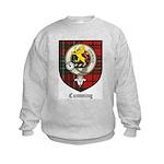 Cumming Clan Crest Tartan Kids Sweatshirt