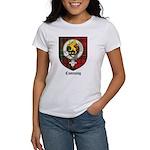 Cumming Clan Crest Tartan Women's T-Shirt