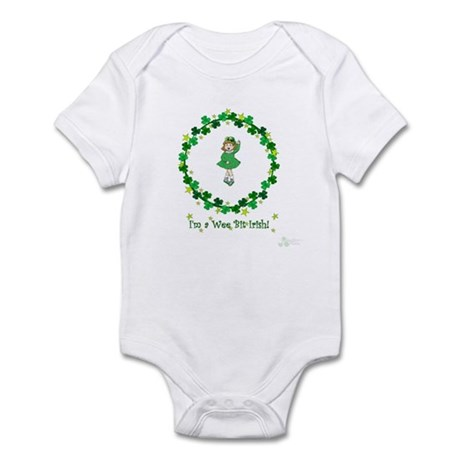 I'm a wee bit of Irish -girl Infant Bodysuit