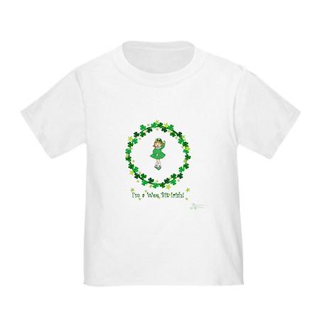 I'm a wee bit of Irish-girl Toddler T-Shirt