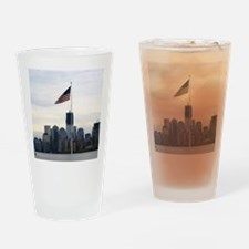 Post 911 Rebuild Drinking Glass