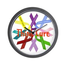 Think Cure Wall Clock