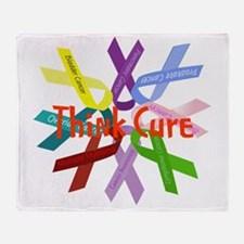 Think Cure Throw Blanket