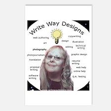 Owner - Write Way Designs Postcards (Package of 8)