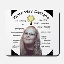 Owner - Write Way Designs Mousepad