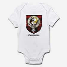 Cunningham Clan Crest Tartan Infant Bodysuit