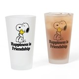 Snoopy Drinking Glass