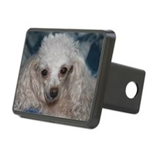 honey the tea cup poodle 2 Hitch Cover
