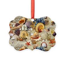 Fancy Seashell Ornament