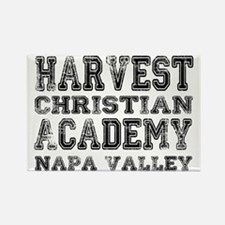 Harvest Christian Academy Napa Va Rectangle Magnet