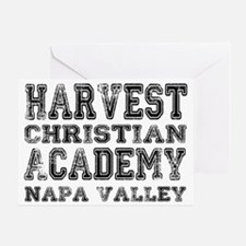 Harvest Christian Academy Napa Valle Greeting Card
