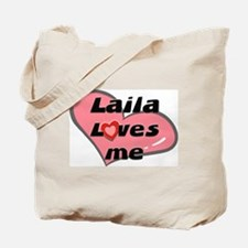 laila loves me Tote Bag