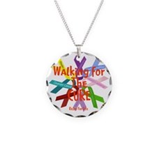 Walking for the CURE copy Necklace