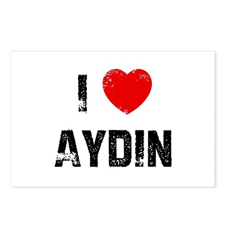 I * Aydin Postcards (Package of 8)