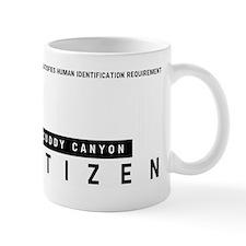 Cuddy Canyon, Citizen Barcode, Mug