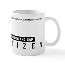 Cumberland Gap, Citizen Barcode, Mug