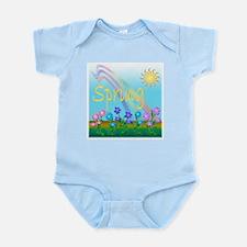 Spring Flowers Infant Bodysuit