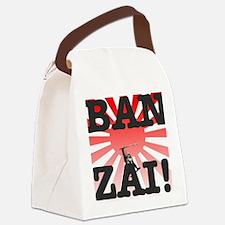 BANZAI - RISING SUN Canvas Lunch Bag