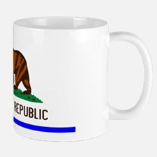 Blue California Republic State Flag Small Small Mug