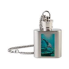 d_sticker_rectangle_v_3_mal_5 Flask Necklace