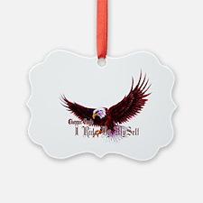 Chopper Eagle Ornament