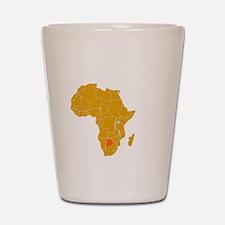 botswana1 Shot Glass