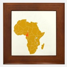 cameroon1 Framed Tile