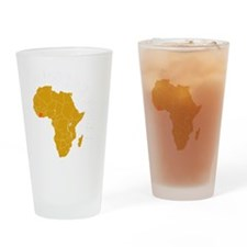 cotedivoire1 Drinking Glass