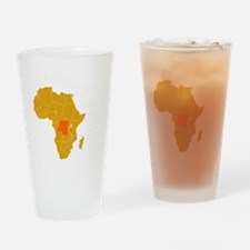 congo1 Drinking Glass