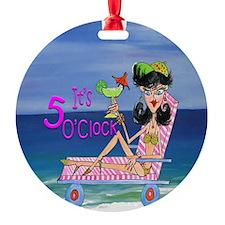 Beach Girl Ornament