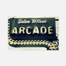 Salem Willows Arcade Rectangle Magnet