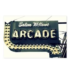 Salem Willows Arcade Postcards (Package of 8)