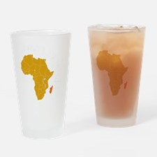 madagascar1 Drinking Glass