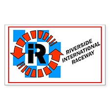 Riverside International Racew Sticker (Rectangular