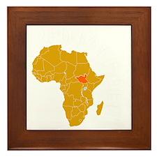 south sudan1 Framed Tile